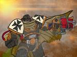 Black Templar battle
