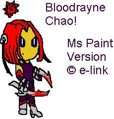 BloodRayne Chao by e-link by bloodraynefans