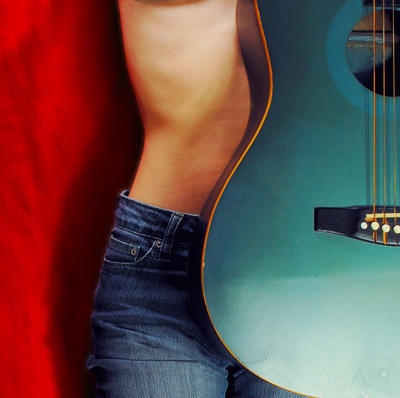 Blue jeans and strings by Ame89