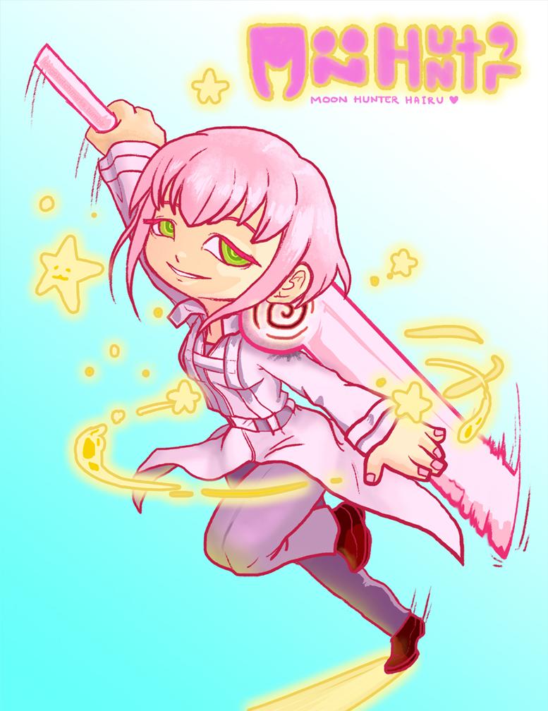 Moon Hunter: Hairu Ihei by Ame89