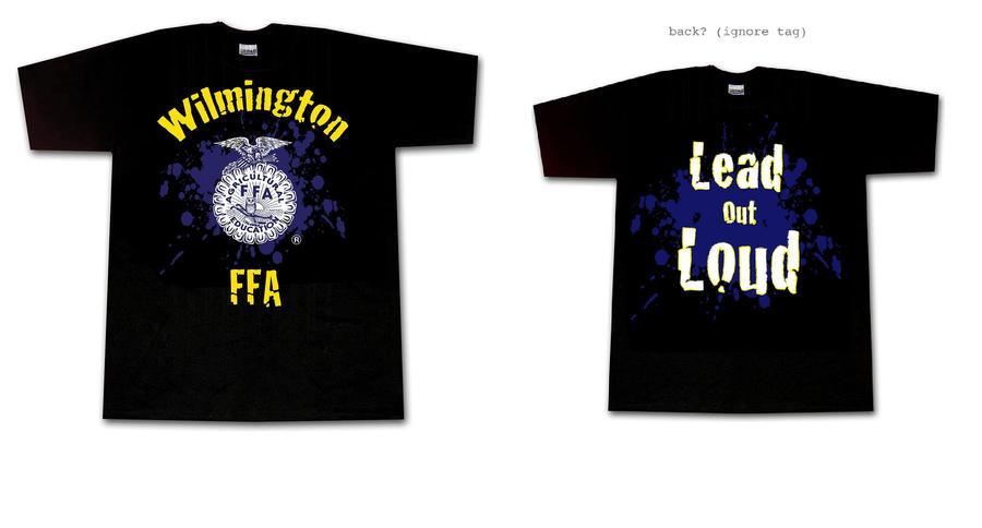 Wilmington ffa shirt by broken in on deviantart for Ffa t shirt design