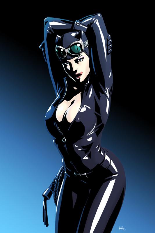 Catwoman by kit-kit-kit on DeviantArt