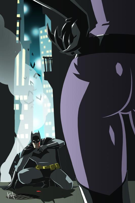 Bat and Cat by kit-kit-kit