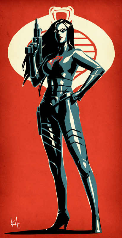 COBRA Intelligence Officer by kit-kit-kit