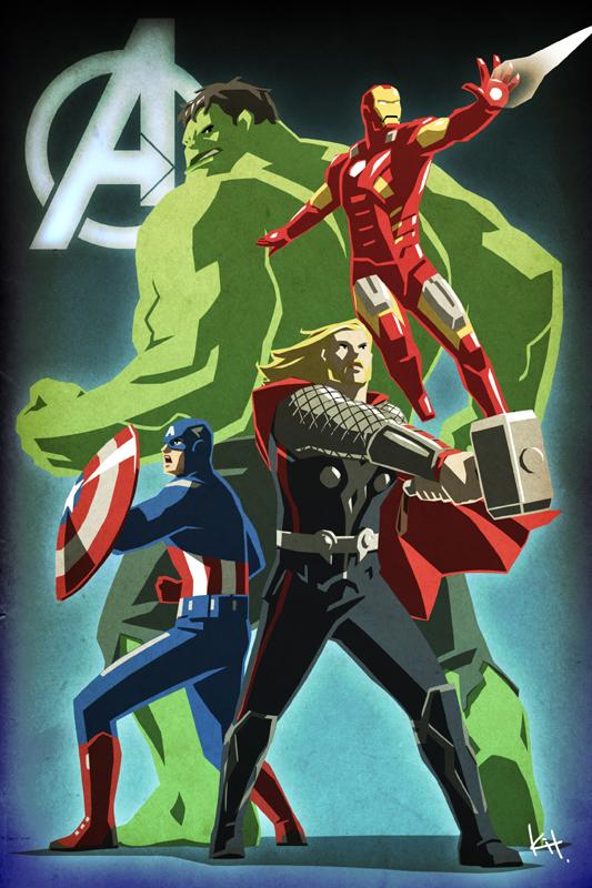 Avengers Assemble! by kit-kit-kit