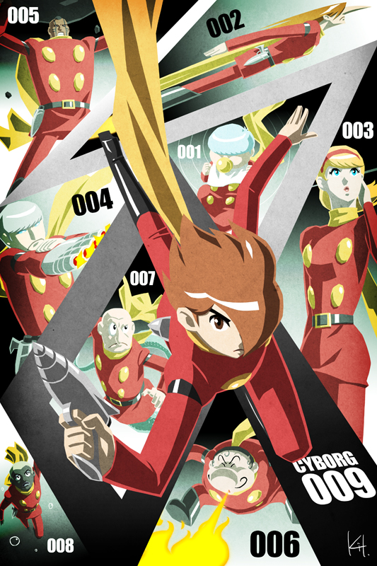 Cyborg 009 by kit-kit-kit