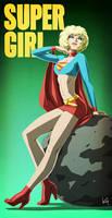 Attractive Supergirl
