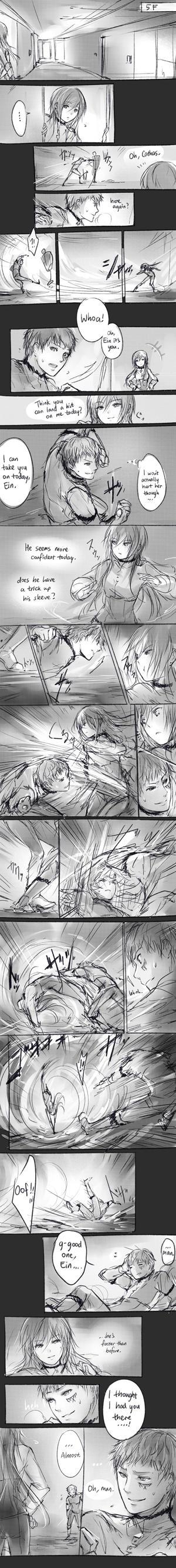 sparring by yukihomu
