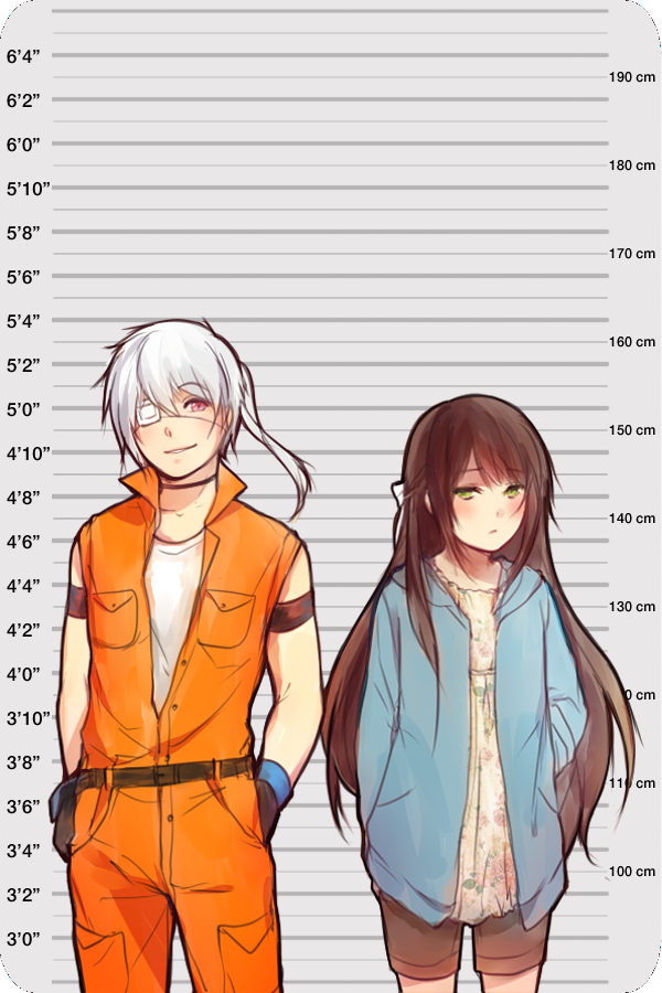Anime Characters 170 Cm : Mage height chart by yukihomu on deviantart