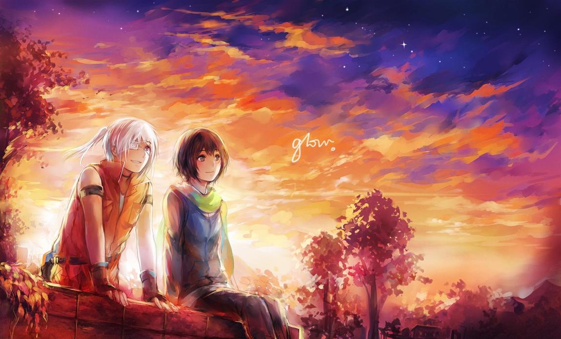 MAGE: glow (duet) by yukihomu