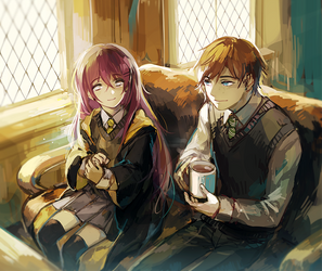 cup of tea by yukihomu