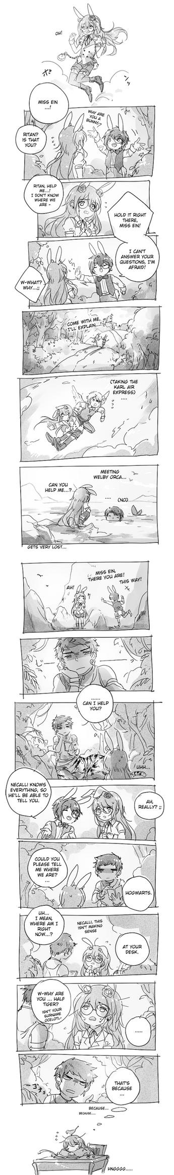 strangest dreams by yukihomu
