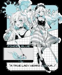 SPECTRA: powder blue by yukihomu