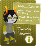[Com] Janush Hozono by Azdaja-MustardPrince