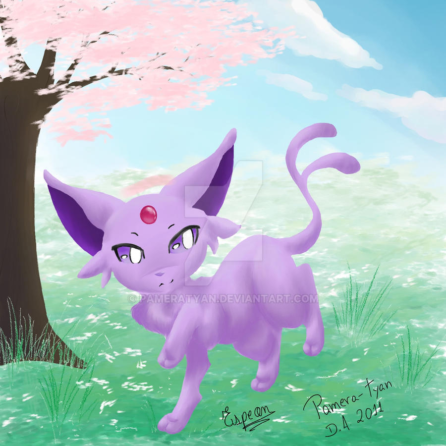 Espeon quickly doodle