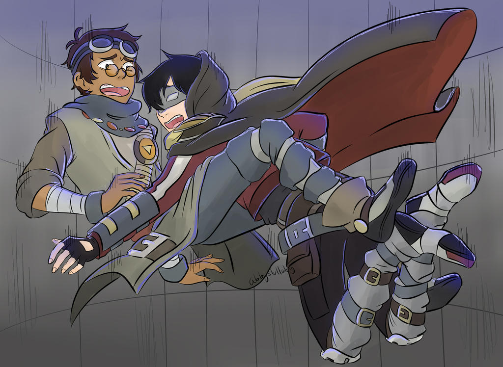[Voltron] Falling pirates by Abbyslullaby