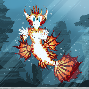 Roddy the Lionfish by RosallieBroken