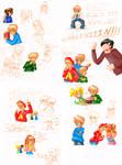 Alvin and Chipmunks doodles
