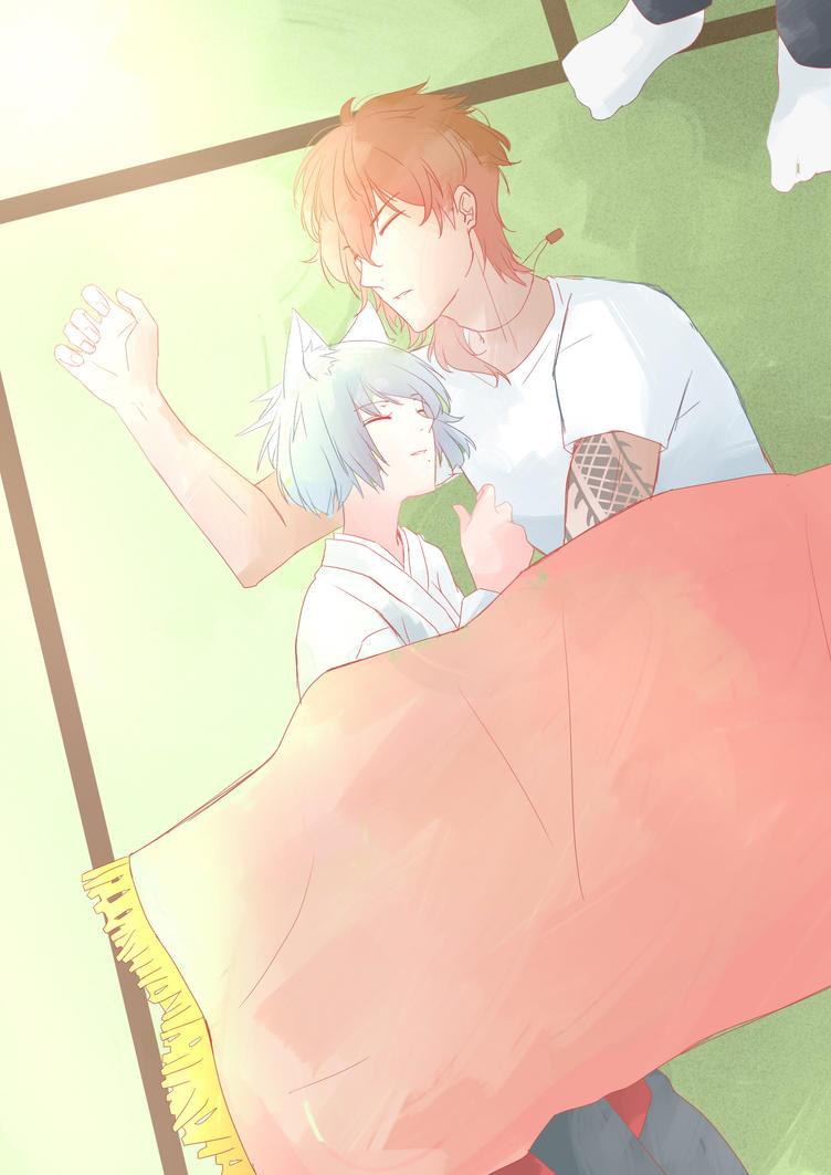 Sleep by AinaBecce