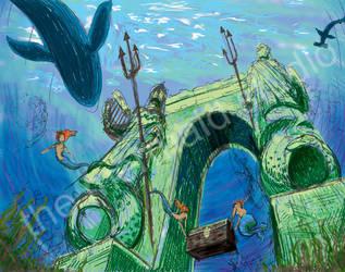 Mermaid Gate by themermaidstudio
