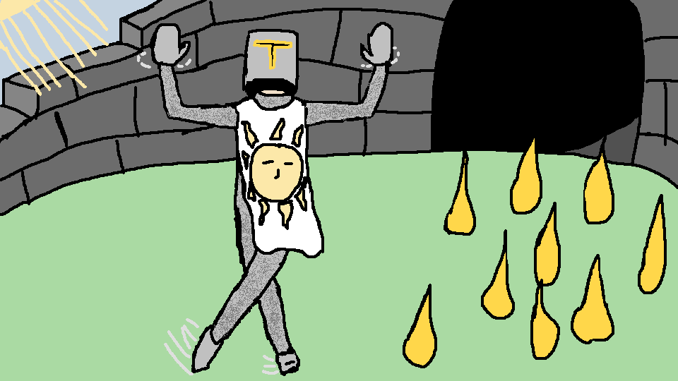 Solaire is Prancing by Paintenderp