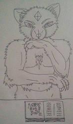Dimitrius, Demon Wolf by SulphurFury