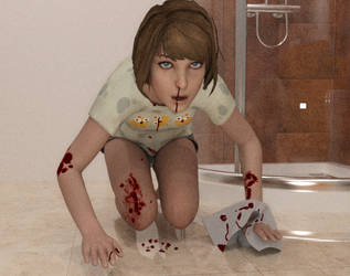 Life is Strange - Max's bloody nose by David-Brainstorm93