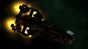 Space Cruiser by Berandas