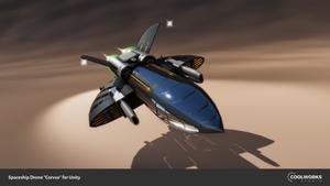 Spaceship drone 01