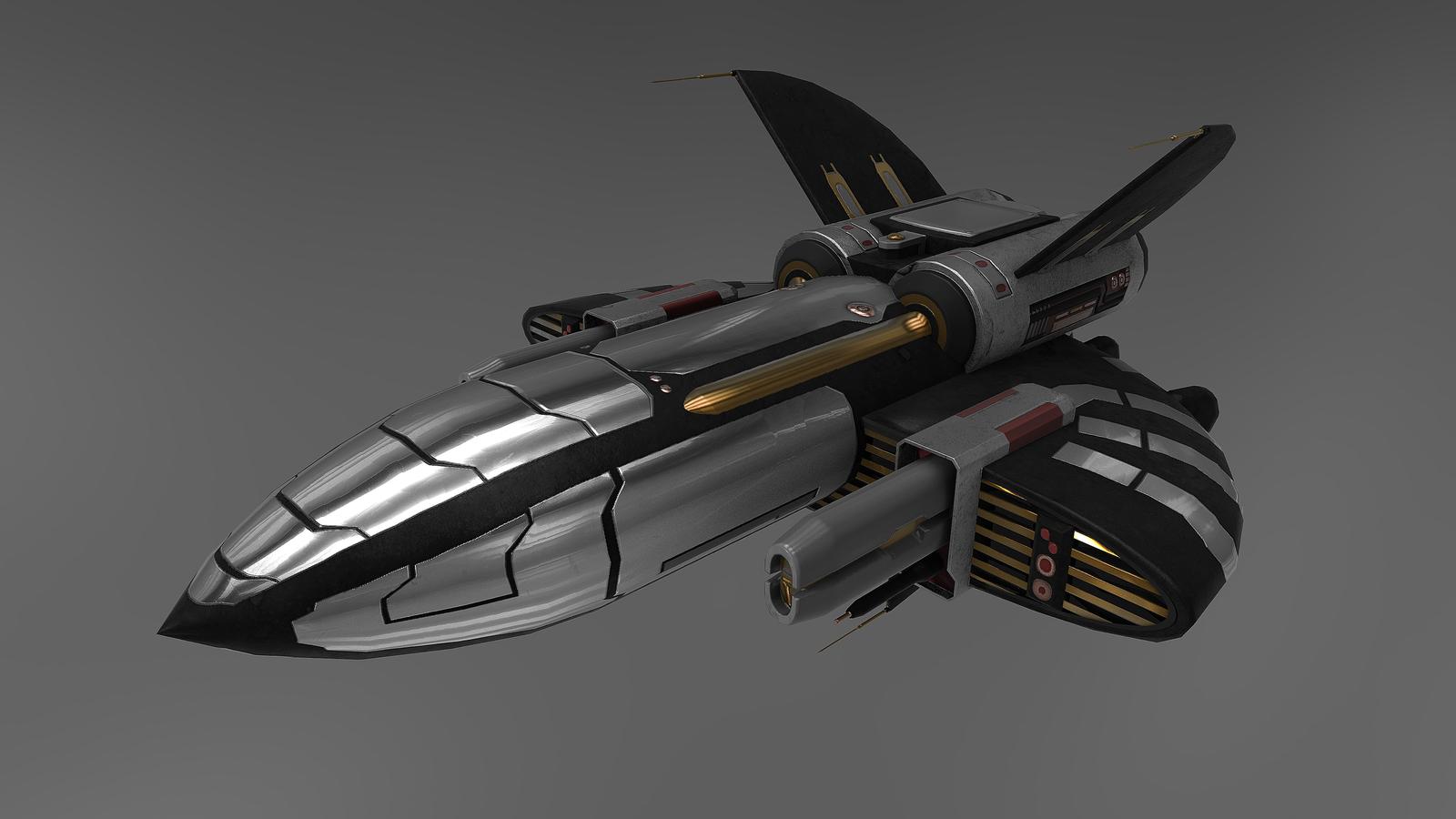 Spaceship Drone 06 By Berandas