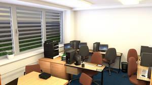 School employment agency interior 1