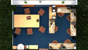 School employment agency interior 5