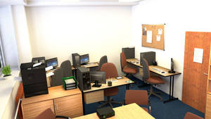 School employment agency interior 4