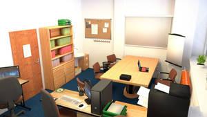 School employment agency interior 3