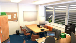 School employment agency interior 2