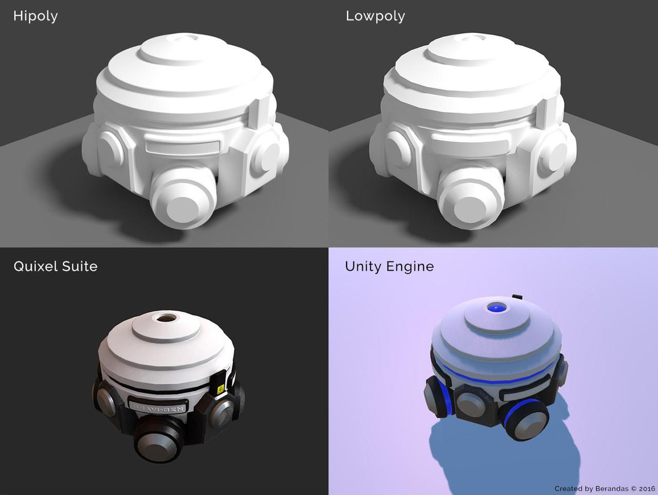 Gravity Generator by Berandas