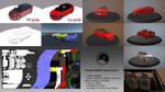 Shoda Rabbit Spaceback 3D Car