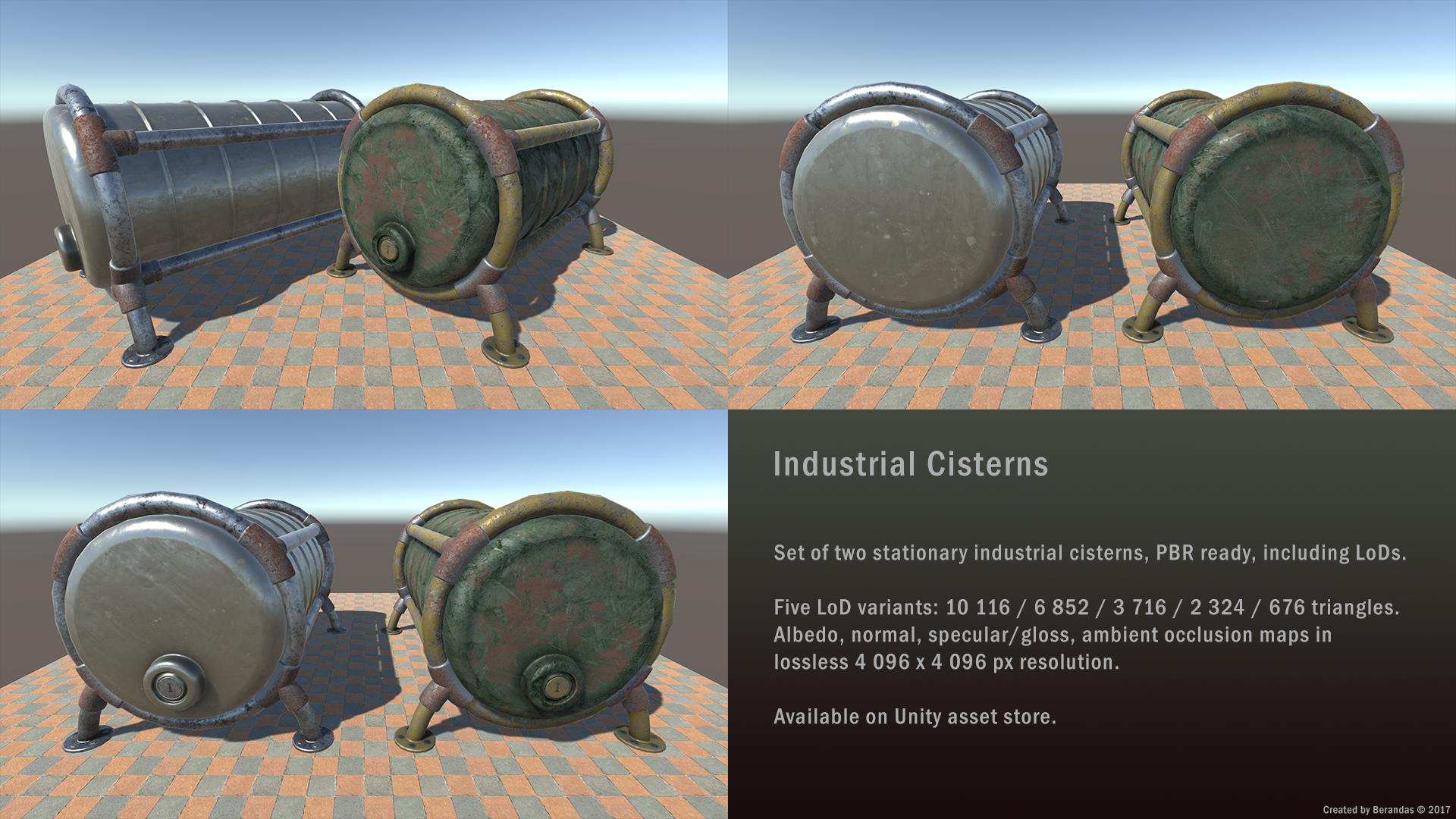 Industrial Cisterns by Berandas