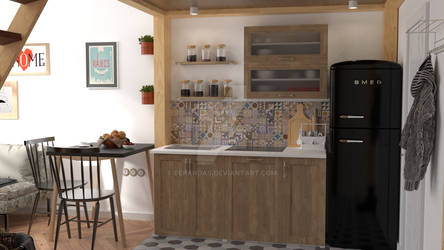 Kitchen Interior Design Preview