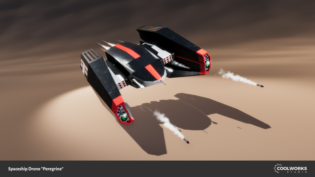 Spaceship Drone Peregrine