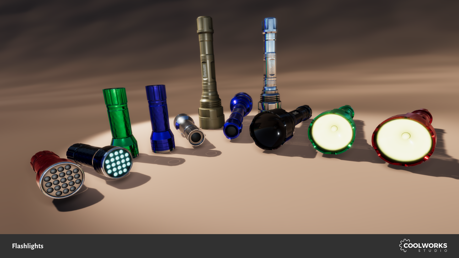 Flashlight set by Berandas