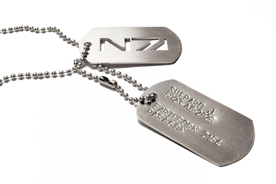 mass effect custom dogtags n7 military by fanflail on deviantart