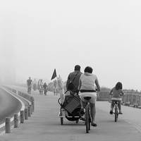 foggy ride by m-lucia