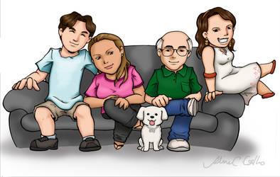 Familia Avila by alineusagi