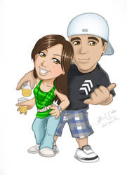 Gustavo e Nayara by alineusagi