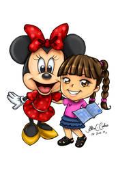 Nina e Minnie by alineusagi