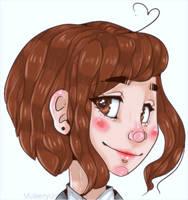 Permanent blush by pastelf