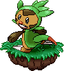 Happy Chespin Sprite by SOAMan
