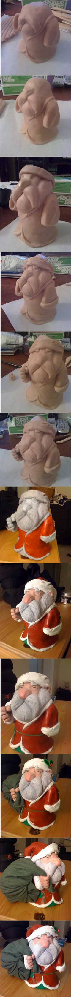 squat santa process