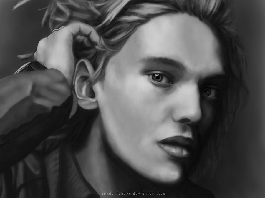 Jamie Campbell Bower redraw by LadyDattebayo